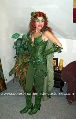 Coolest Poison Ivy Costume With Over 1000 Silk Leaves Poison Ivy