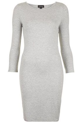 Plain Short Bodycon Dress - Dresses  - Clothing