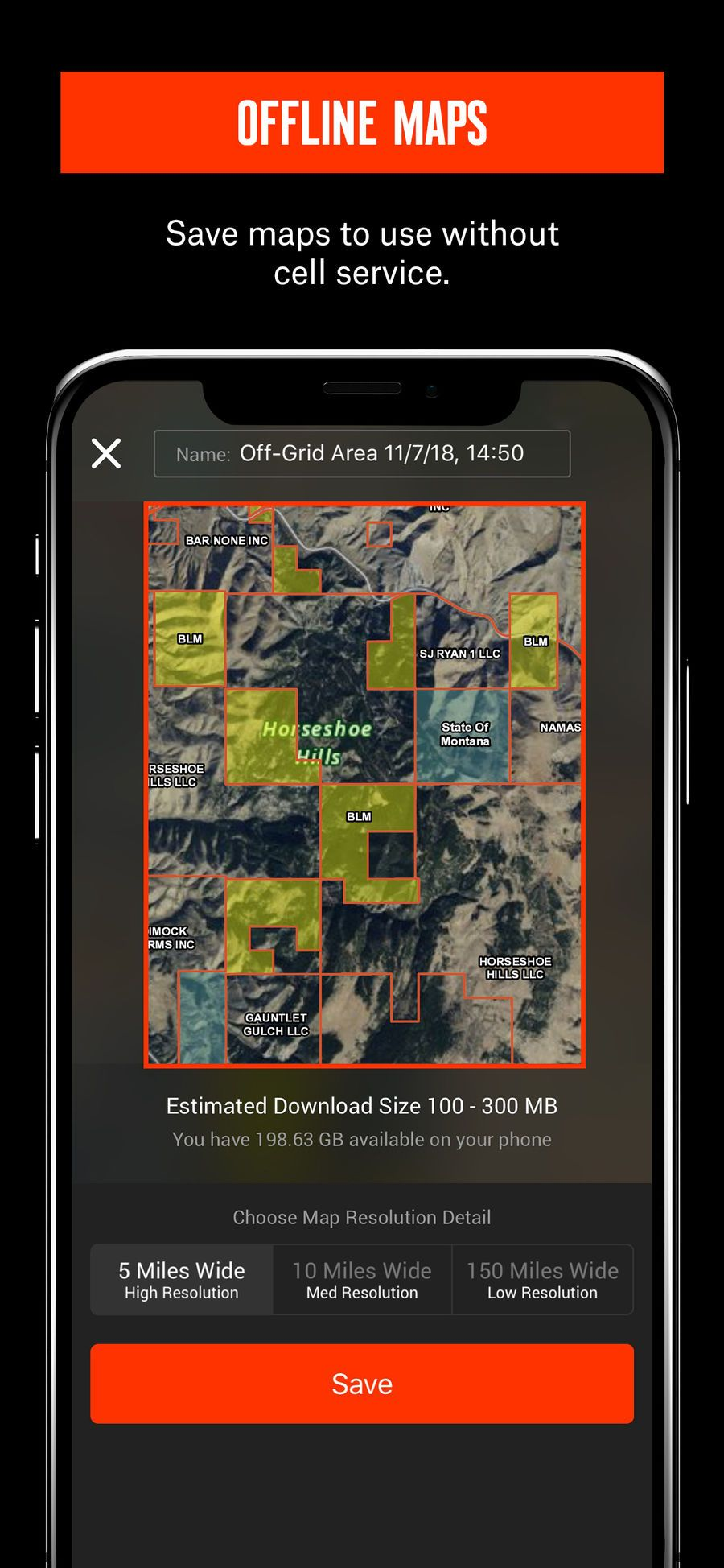 onX Hunt 1 GPS Hunting Map on the App Store Hunting