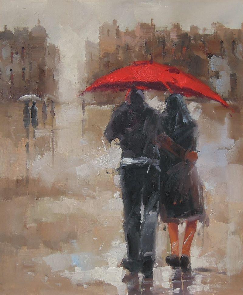 painting rain - Google zoeken