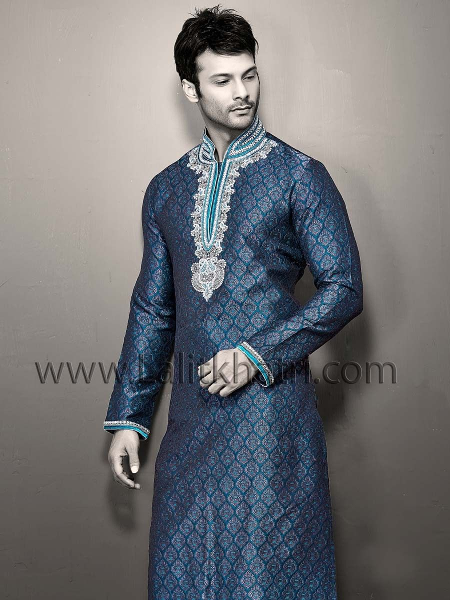 Brocade Kurta | Grooms Outfit | Pinterest | Sherwani and Men\'s fashion