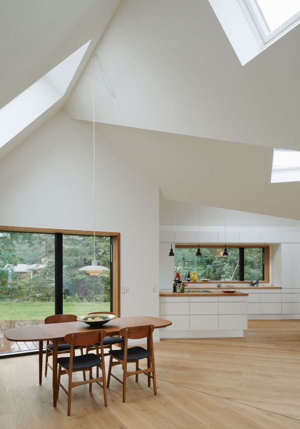 Danish Summer House Design: Danish Pitched Roof Summer House By Powerhouse Company