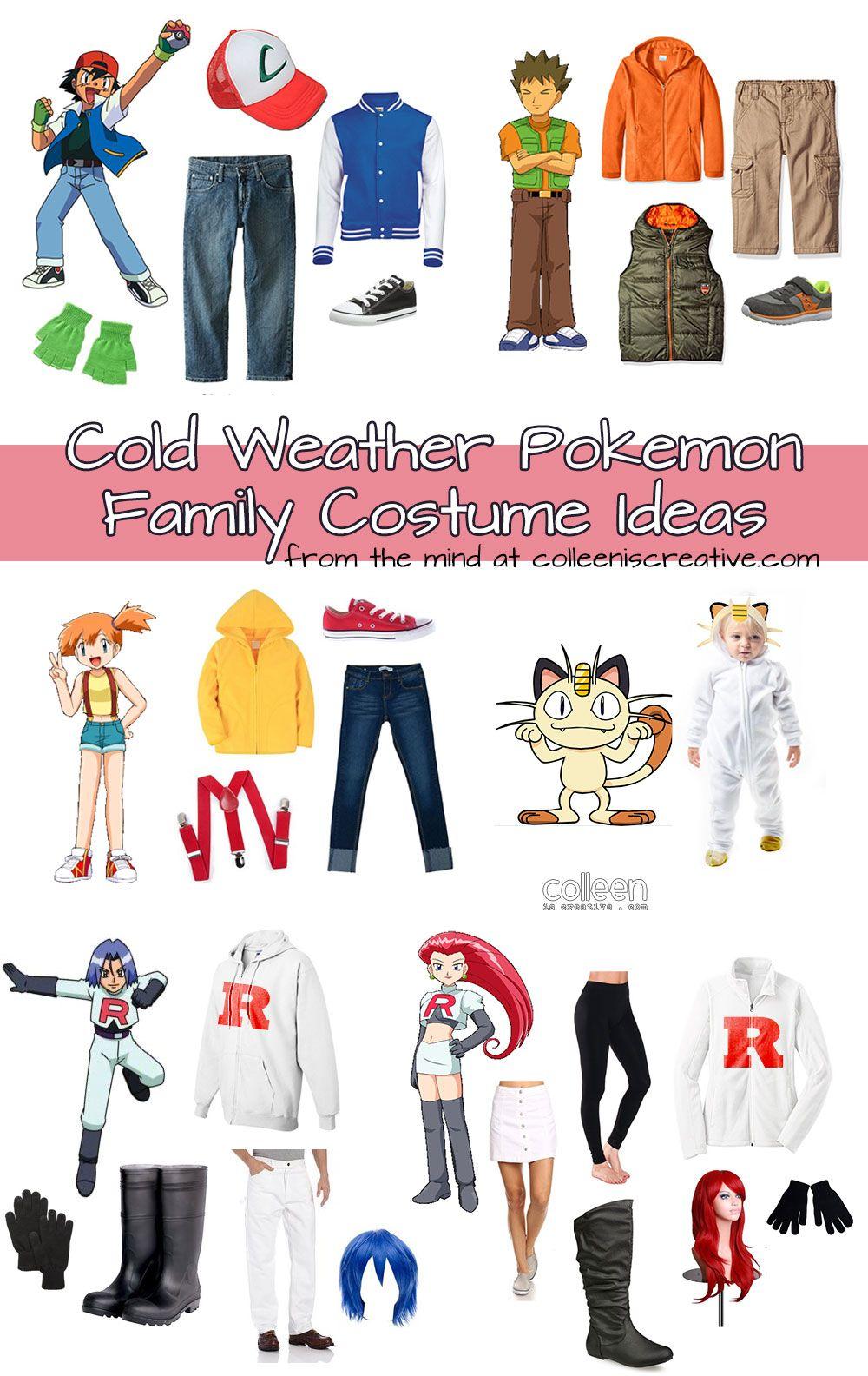 jessie and costumes Pokemon james