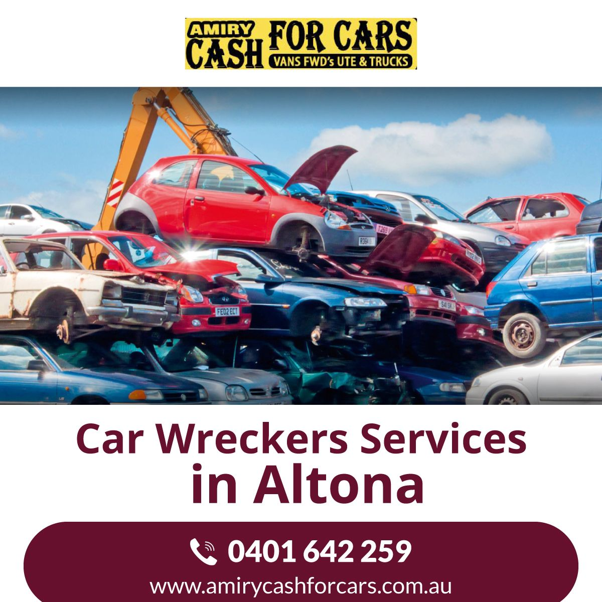 Amiry Enterprises Is A Professional Car Removal Company That