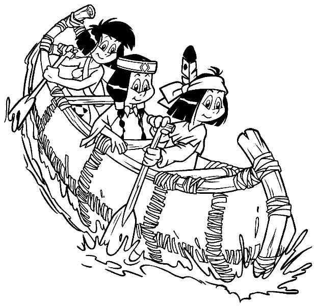 yakari 13 ausmalbilder | geburtstagsparty indianer