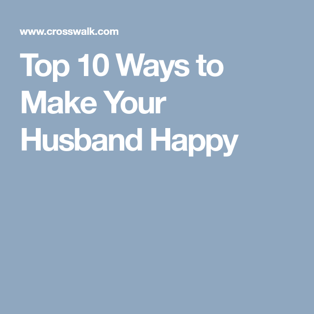 Top ten ways to be happy