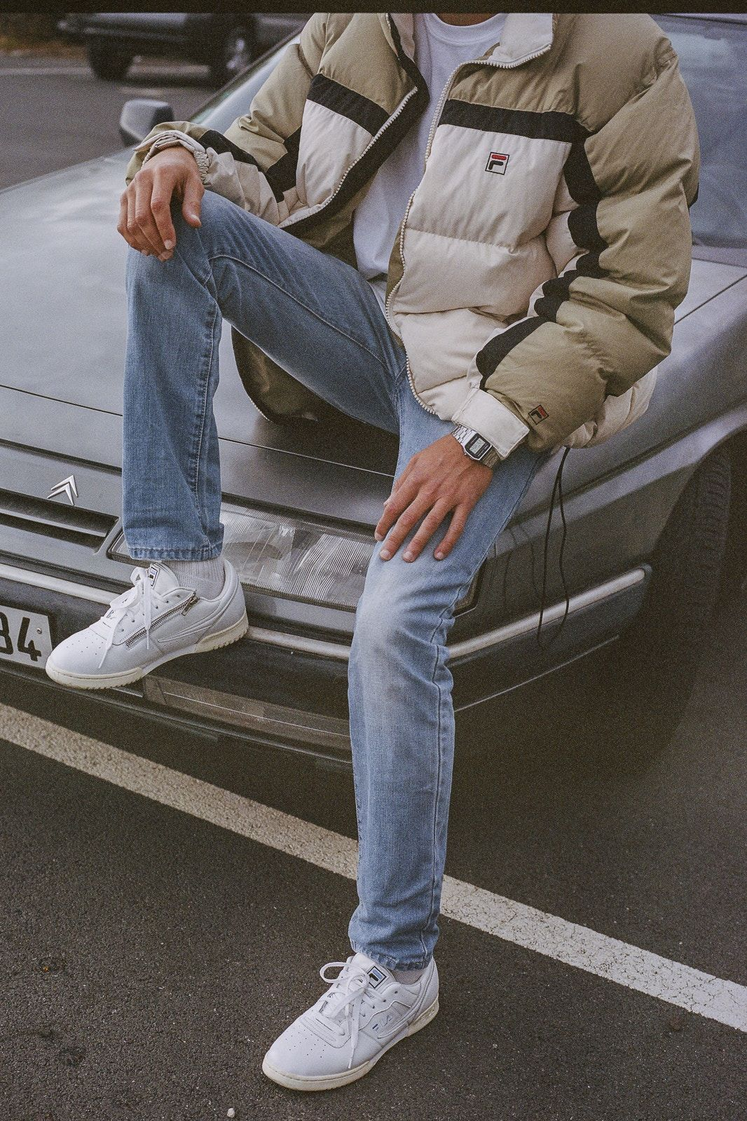Sneakers outfit men