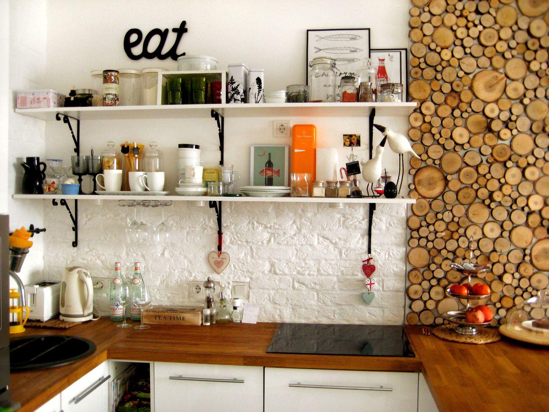 Декор стен в кухне своими руками советы и фото | Идеи для ...