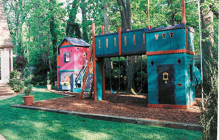 Barbara Butler-Extraordinary Play Structures for Kids-Kids Rule Clubhouse: With Robin Hood's Fort nearby