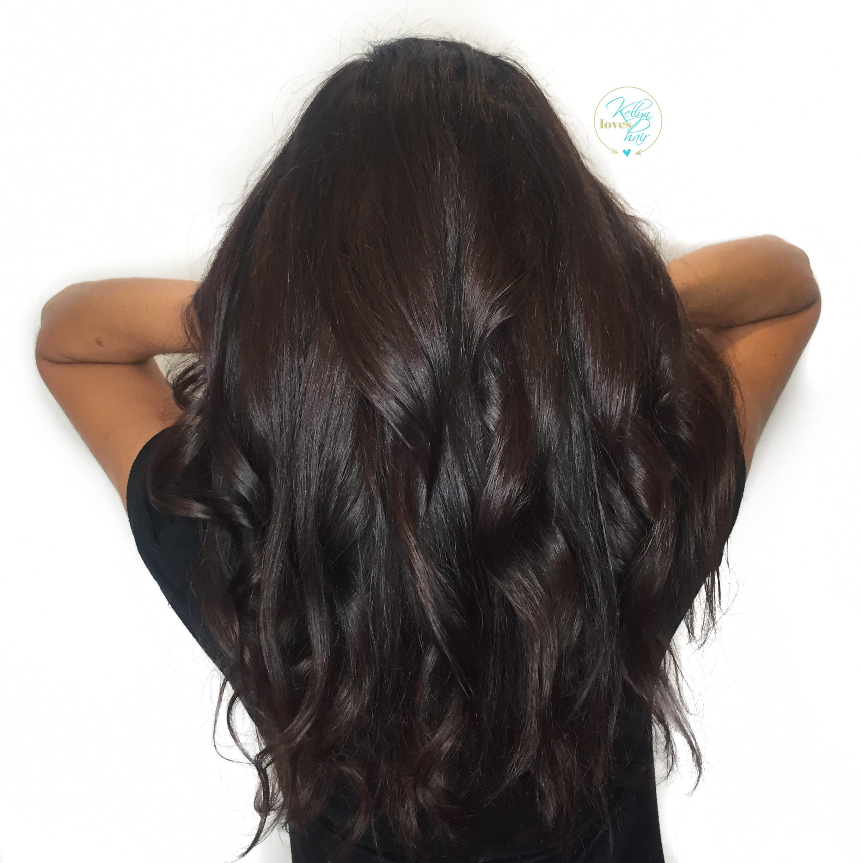 Rich Dark Chocolate Brown Hair Color