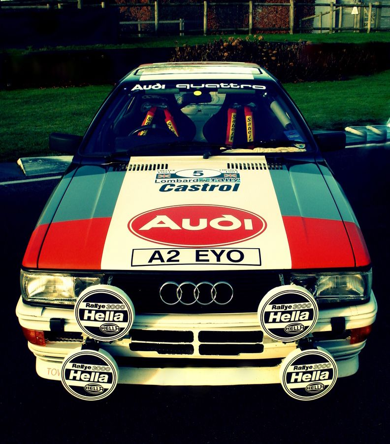 Audi Quattro, Rally And