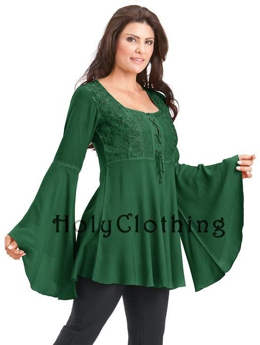 483145d8827 Pin by HolyClothing.com on Rhiannon Renaissance Top in 2019 | Tunic ...