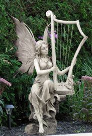 Marvelous Our Charming #9445 Garden Fairy Is Ready To Play A Wonderful Song. This  Enchanted
