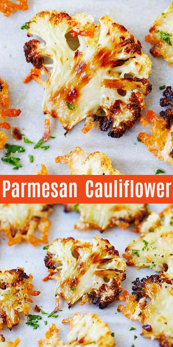 Photo of Parmesan Roasted Cauliflower