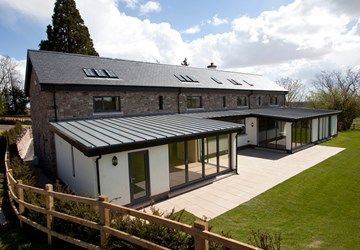 Vieo Metal Roof And Wall System Roof Cladding Flat Roof Extension Zinc Roof