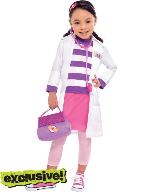 Toddler Girls Doc Mcstuffins Costume Party City Doctora Juguetes Disfraces Para Ninos Fiesta Doctora Juguete