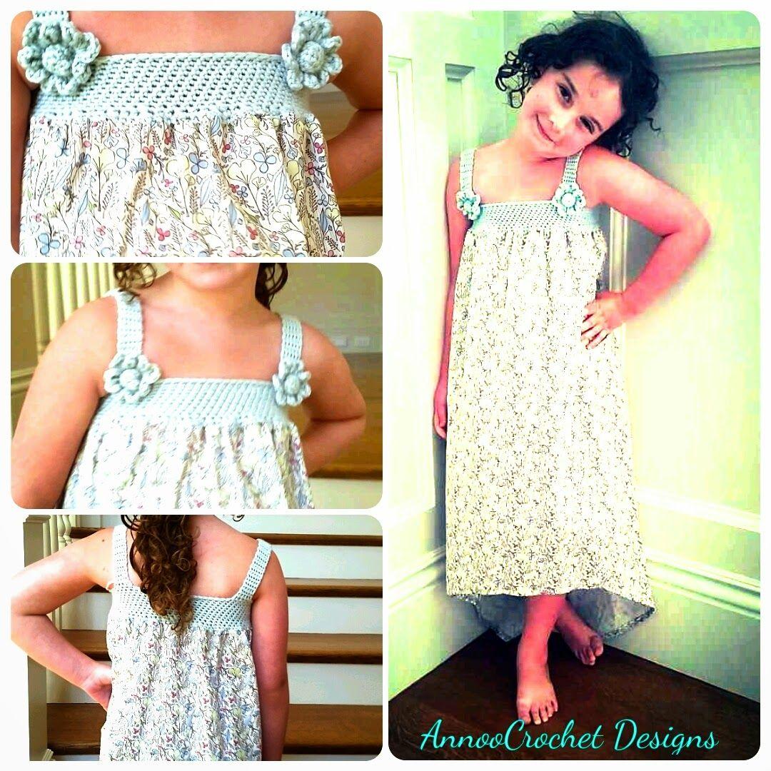 Darling summer dress free tutorial annoous crochet world crochet