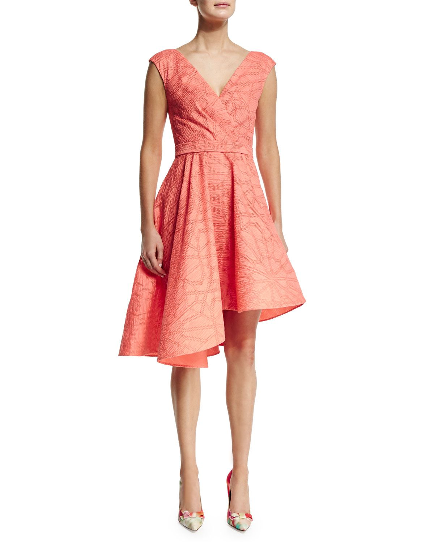 3c19933dab827b Sleeveless Asymmetric-Hem Dress