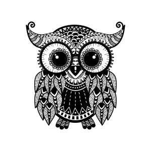 mandala eule eulen owls pinterest eule ausdrucken. Black Bedroom Furniture Sets. Home Design Ideas