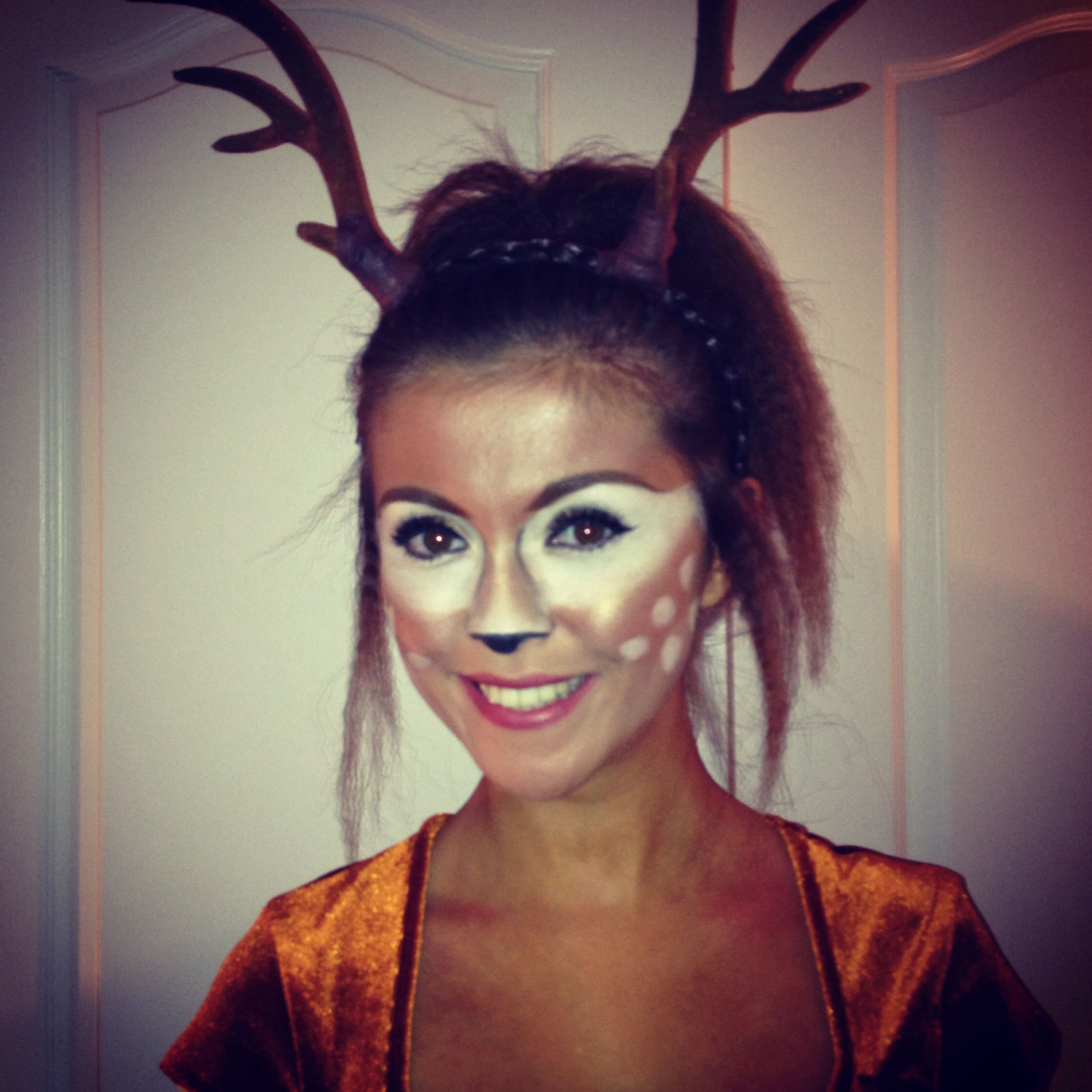 my bambi make up makeup bambi disney bambimakeup deer costume cute costumes pinterest. Black Bedroom Furniture Sets. Home Design Ideas