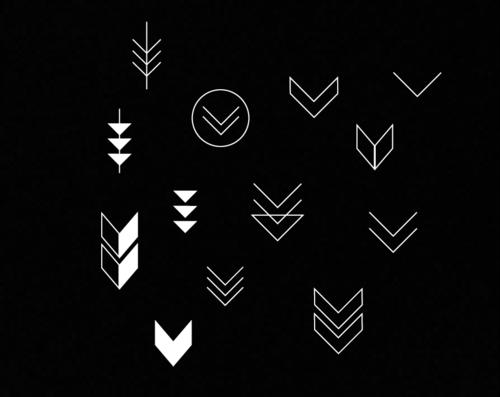 Arrows Simple Arrow Tattoo Tattoos Chevron Tattoo
