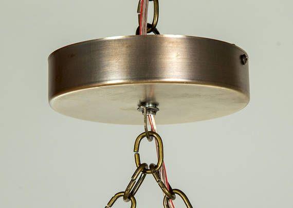 Rustikal Moderne Hängen Zurückgefordert Holz, Licht, Leuchte Mit LED Lampen  Strahlen Und Verrosteten