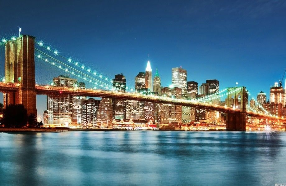New York City Lights 4k Ultra Hd Wallpaper 4k Wallpaper Net Skyline Luces De Nueva York Viajes Imprescindibles