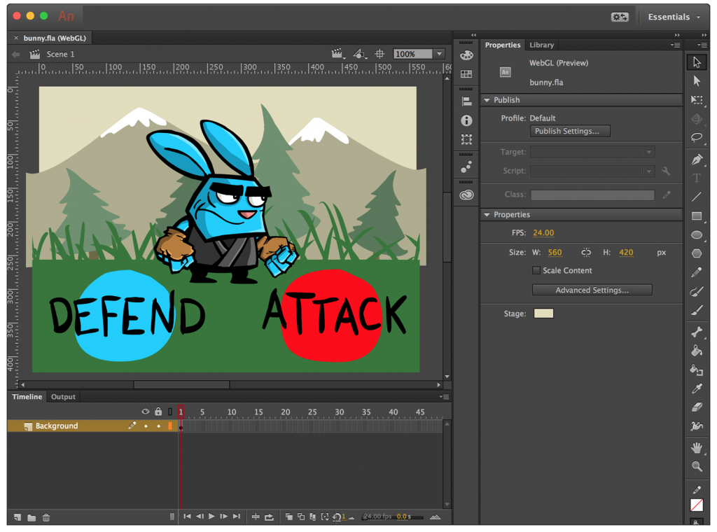Adobe Animation Software