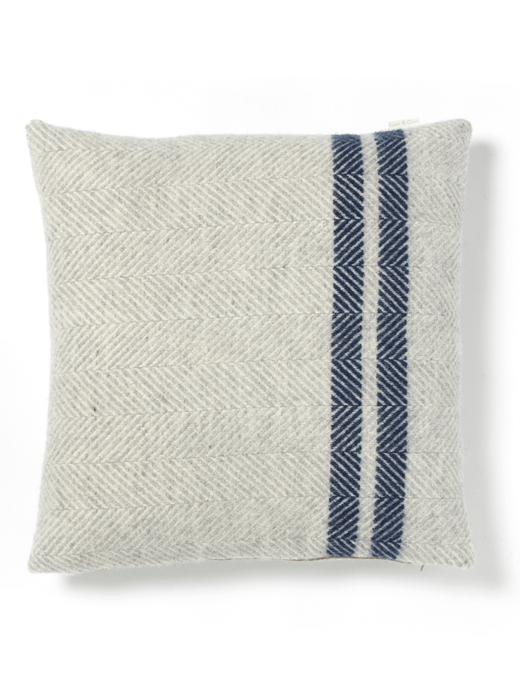 Handmade In The Uk From Pure Wool With A Duck Feather Inner Our Luxurious Cushion Is Super Soft And Warm The Perfect S Wool Cushion Blue Cushions Cushions Uk