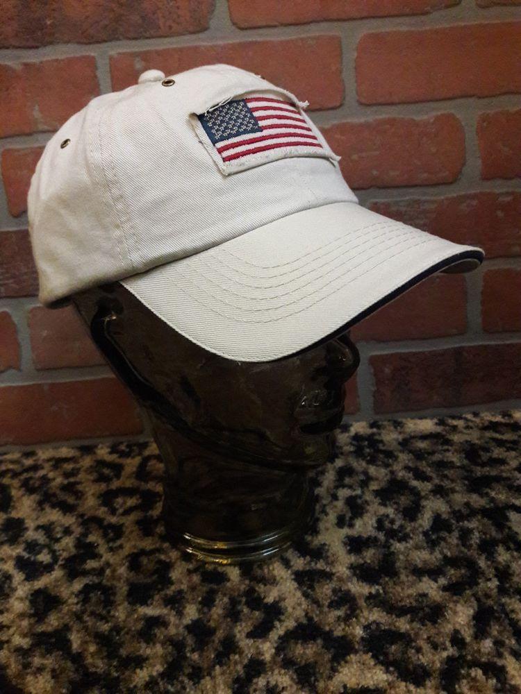 Men s USA American Flag STETSON Baseball Cap Hat Adjustable NEW Khaki Tan  Putty  Stetson  BaseballCap 0b415ad0d18