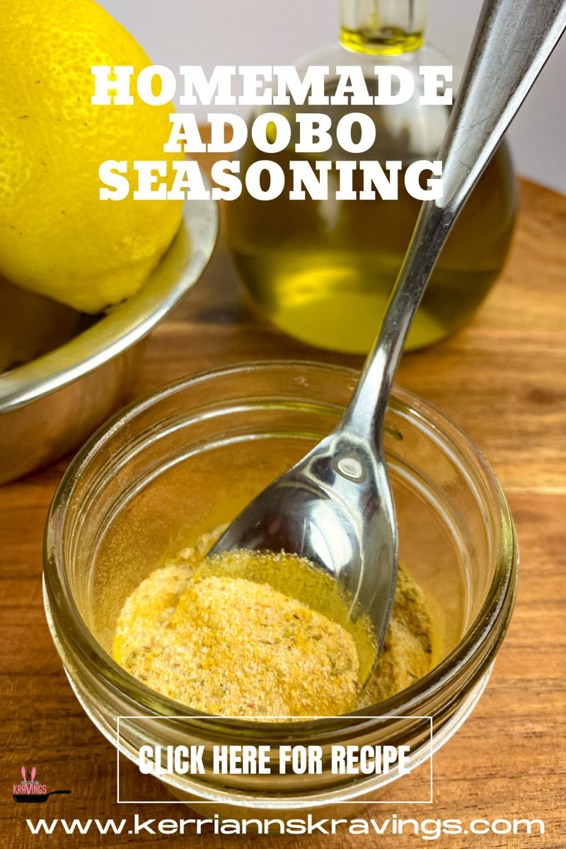 How To Make Homemade Adobo Seasoning A Thoughtful Homemade Gift For The Foodie In Your Life Or A Great Homemade Seasonings Spice Mix Recipes Adobo Seasoning