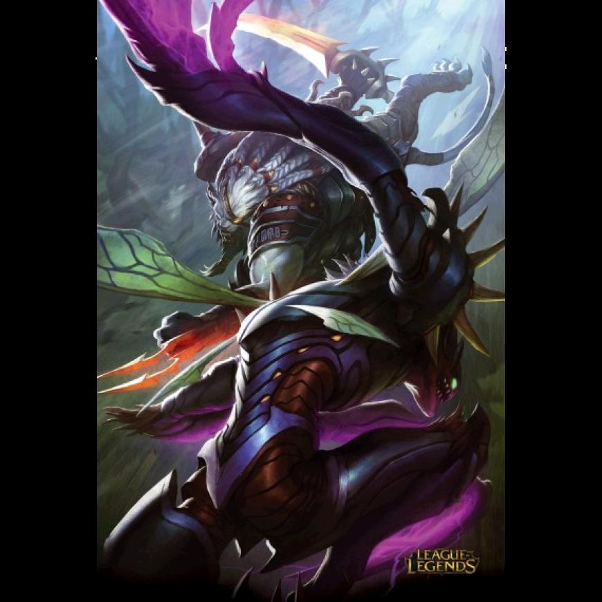Kha Zix Vs Rengar Posters Art Lol League Of Legends League Of Legends League Of Legends Characters