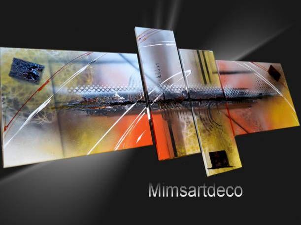 Vente en ligne tableaux peinture moderne abstrait deco murale pinterest - Peinture ressource vente en ligne ...