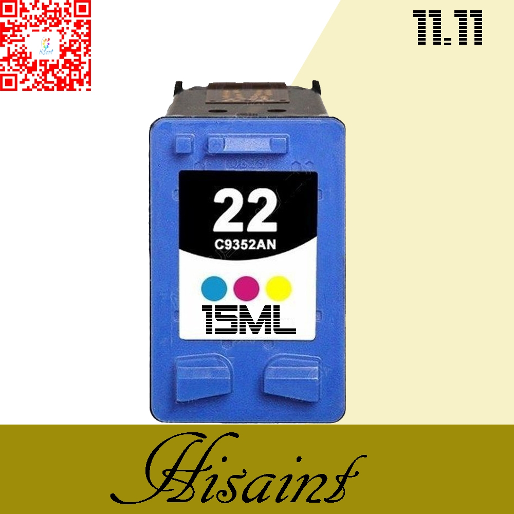 12.59$  Buy here - http://alilxz.shopchina.info/go.php?t=32756335238 - 1PK Tri-color Hot for hp22 Ink Cartridge For DESKJET 3910 3920 D1311D1320 D1330 D1341 D1360 Cartridge for your printer for hp 22 12.59$ #magazine
