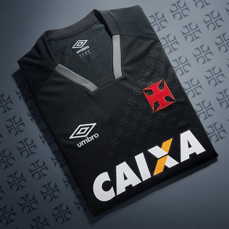 ef98f597c0 Nova terceira camisa do Vasco da Gama 2017-2018 Umbro