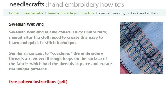 Magnificent Swedish Embroidery Free Patterns Motif Sewing Ideas