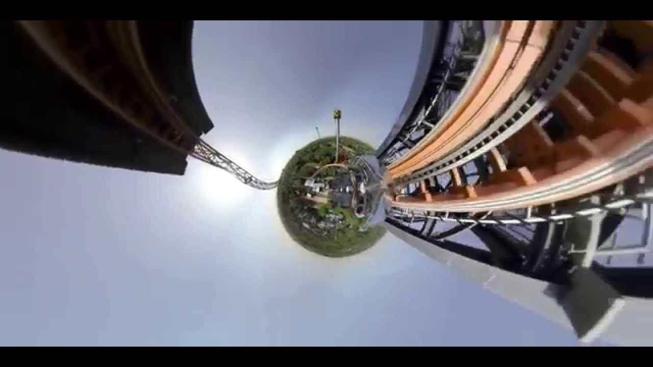 LittlePlanet RollerCoaster Made with VideoStitch
