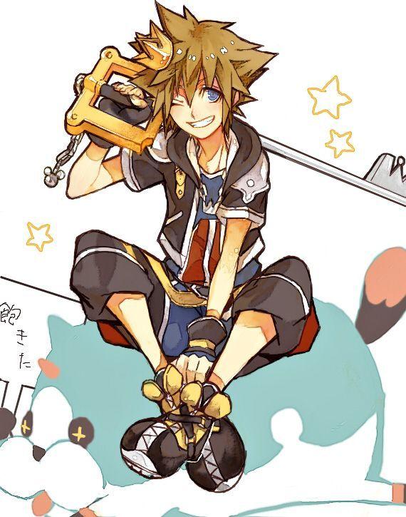Resultado De Imagen Sora Kingdom Hearts Anime