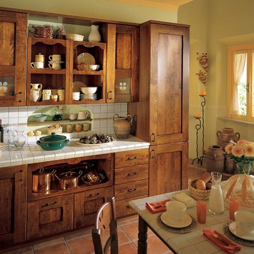 Cocina rustica peque a buscar con google my stuff - Cocinas pequenas rusticas ...