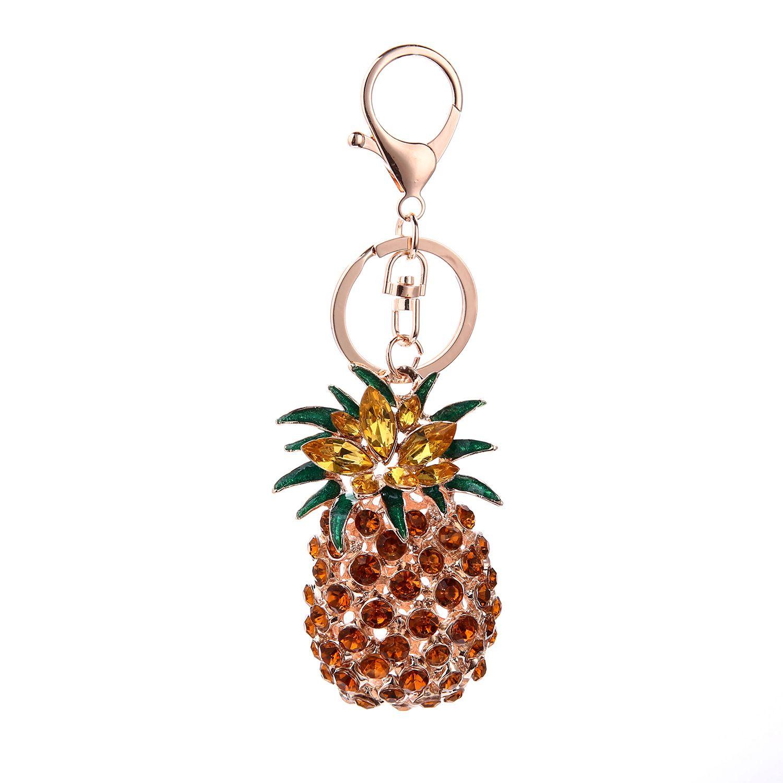 Tropical Pineapple Keychain/Bag Charm Little Luxuries
