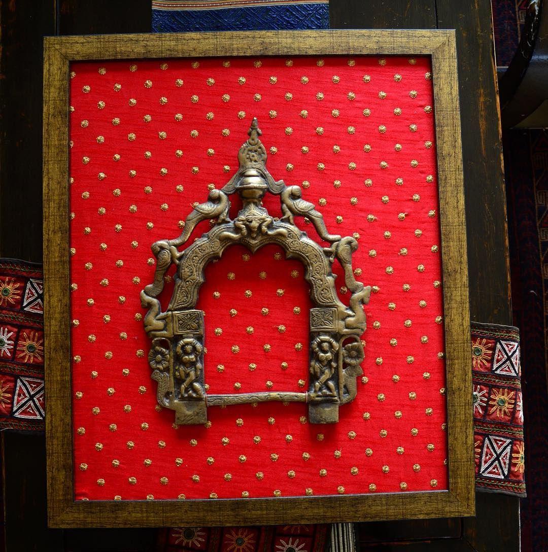 Buddha Prabhavali. Diy frame, Indian decor, Brass decor