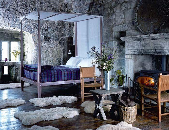 Ballyporty castle via design tripper