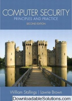 solution manual for computer security principles and practice 2nd