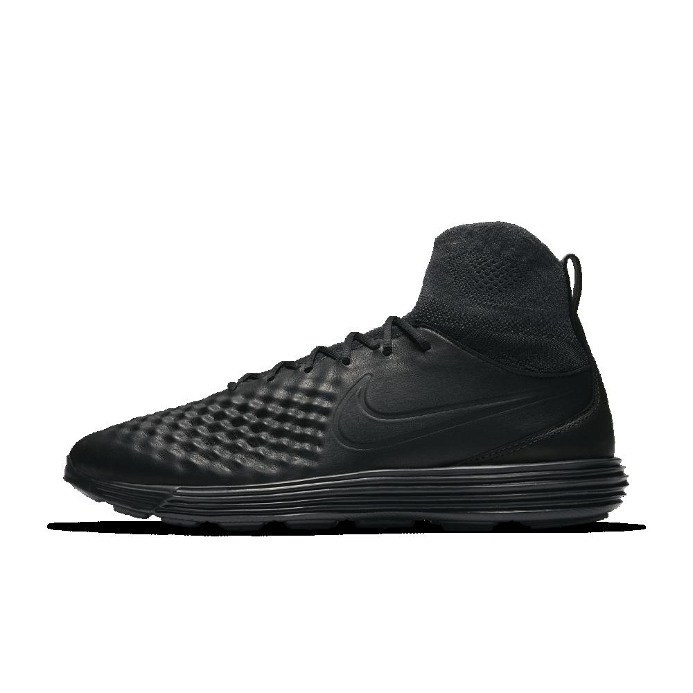 Nike Lunar Magista II Flyknit Men's Shoe Size 11.5 (Black
