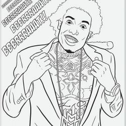 Lil Wayne Coloring Sheets Wane Colouring Pages Page 2