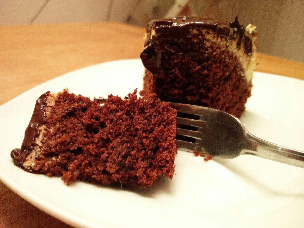 Chocolate brownie cheesecake super easy! Visit buzzed tasty for the recipe