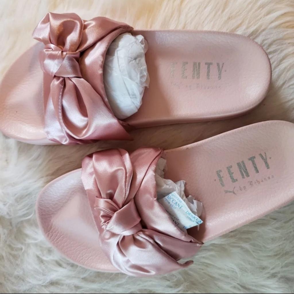 wholesale dealer f4c47 12513 Puma Shoes | Fenty Bow Slides Pink | Color: Pink | Size: 7.5 ...