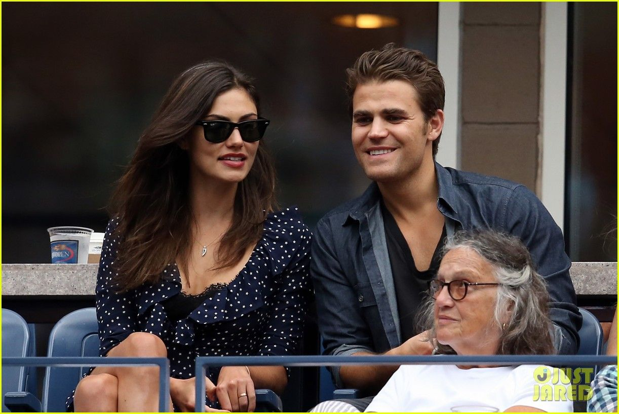 Paul Wesley & Phoebe Tonkin Couple Up for the U.S. Open ...