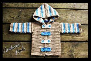 7e58e2efa 10 Free Crochet Cardigan Sweater Patterns for Baby Boys!