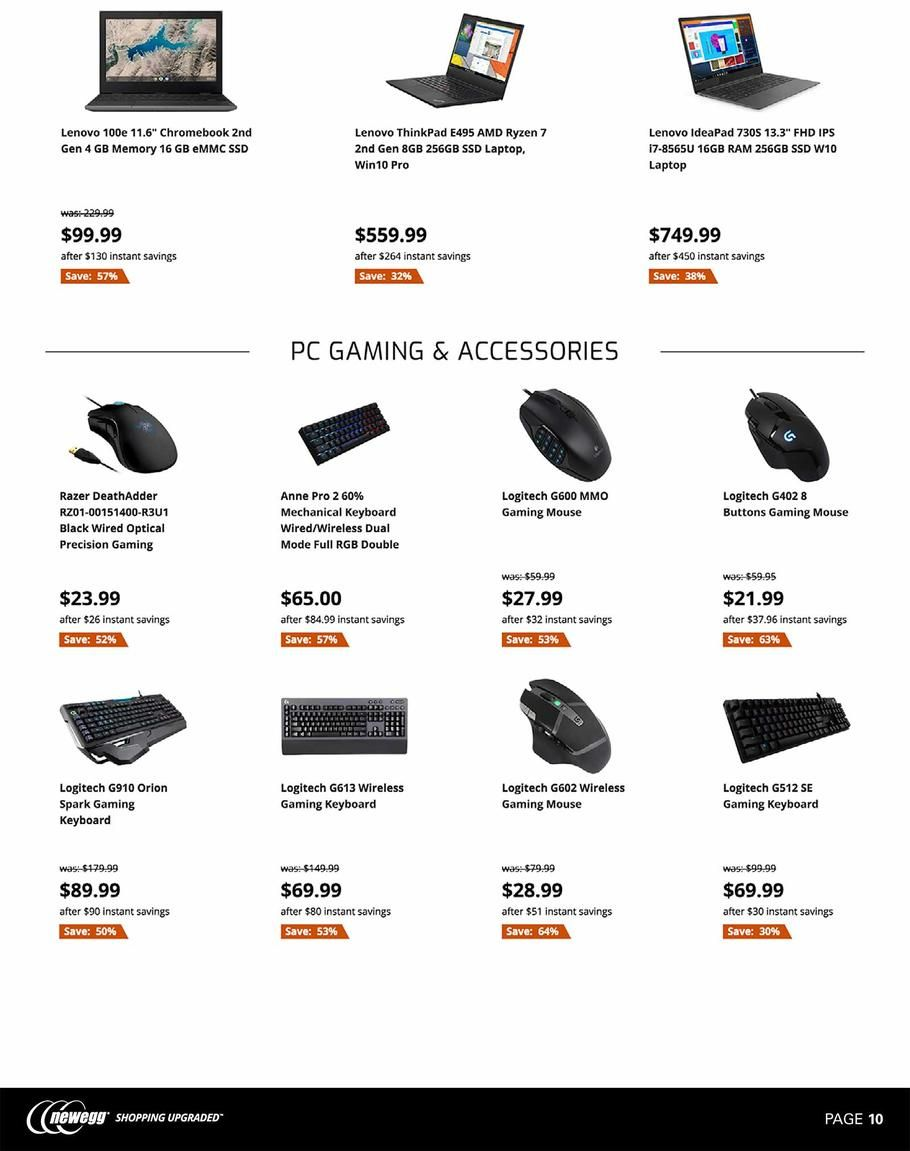 Newegg Black Friday Ad Scan Deals And Sales 2019 Black Friday Ads Black Friday Black Friday News